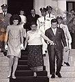Jacqueline Kennedy, Sisowath Kossamak and Norodom Sihanouk in 1967.jpg