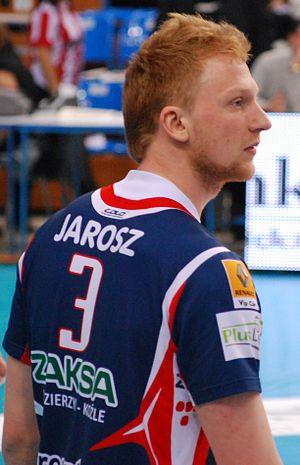 Jakub Jarosz - Jarosz as player of ZAKSA on February 20, 2010.