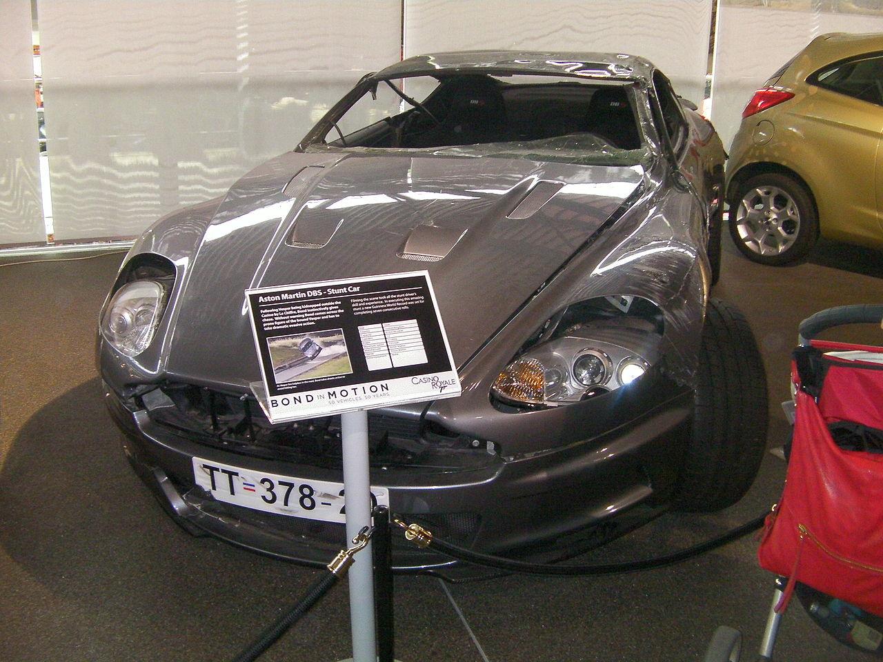 File James Bond Aston Martin Dbs Casino Royale Jpg Wikimedia Commons