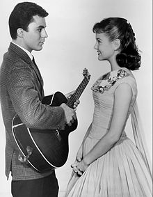 James Darren Shelley Fabares Donna Reed Show 1959.JPG