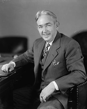 Stanley plan - J. Lindsay Almond, whose opinions as Virginia's Attorney General helped shape the Stanley plan.