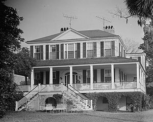 Marshlands Plantation House - Image: James Robert Verdier House Marshlands (Beaufort, South Carolina)