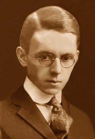 James Thurber - High school graduation photo, East high school