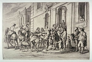 Jan Baptist de Wael - The Prodigal Son
