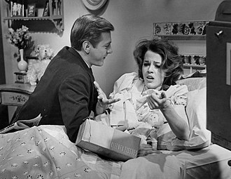 George Grizzard - Grizzard and Jane Fonda in a 1961 presentation of W. Somerset Maugham's A String of Beads