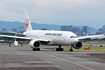 Japan Airlines, B777-200, JA772J (18043880664).jpg