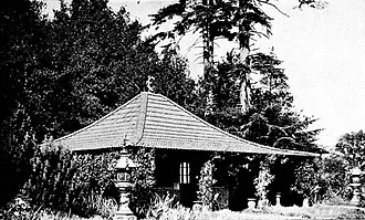 Batsford Arboretum - The Japanese Rest house in 1917