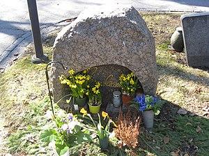 Jarno Saarinen - Jarno Saarinen's grave in Turku, Finland.