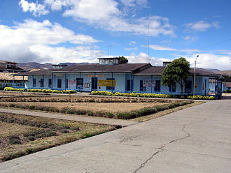 Jauja - Hospital Domingo Olavegoya, Jauja