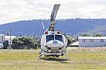 Jayrow Helicopters (VH-JJK) Bell 212, operated as Helitack 339, at Albury Airport (1).jpg