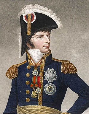 Charles XIV John of Sweden - Bernadotte, as Marshal of the French Empire.