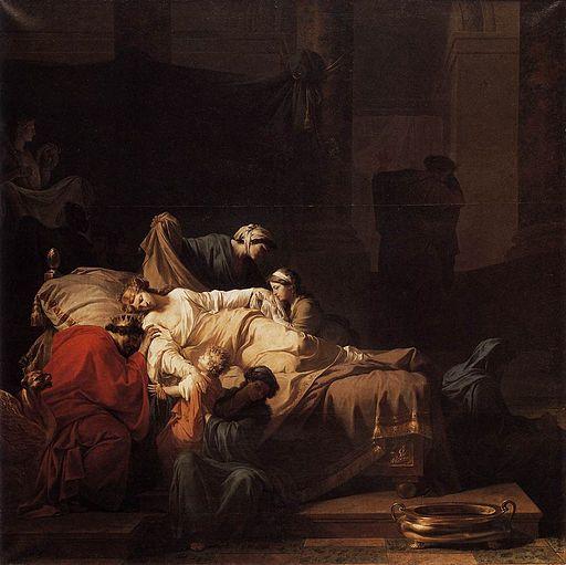 Jean-François-Pierre Peyron - Alceste mourante - WGA17394