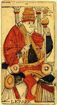 le pape tarot