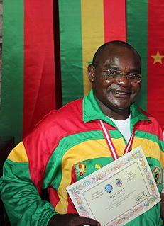 Jean Marc Ndjofang Cameroonian draughts player