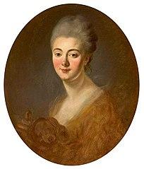 Portrait of Elisabeth-Sophie-Constance de Lowendhal, Countess of Turpin de Crissé