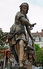statue of Jeanne Hachette