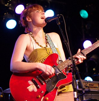 Jenn Grant - Jenn Grant performing at the New Capital Music Hall in Ottawa, Ontario, 2007