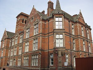 Jessop Hospital - The Original Victorian Wing of the Jessop Hospital