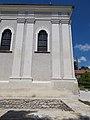 Jesuit church S windows in Veszprémvölgy, Veszprém, 2016 Hungary.jpg