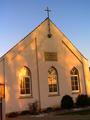 Jever Kapelle im Sonnenaufgang.png