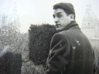 Laurent Jiménez-Balaguer - Jiménez-Balaguer in Paris in 1961