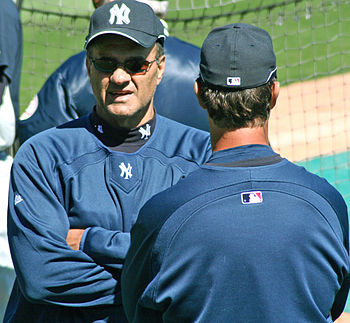 English: Photograph of Joe Torre taken by Goog...