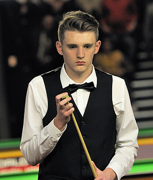 Joel Walker (snooker player) - Walker at the 2014 German Masters
