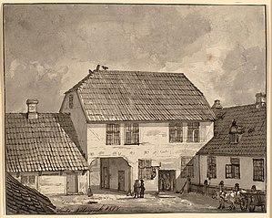 Gaardinteriør fra Sorø
