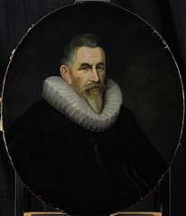 Portrait of Johan van der Veecque, Director of the Rotterdam Chamber of the Dutch East India Company, elected 1602