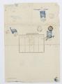 Johanna Kempes pass med passkontrollstämplar - Hallwylska museet - 102473.tif