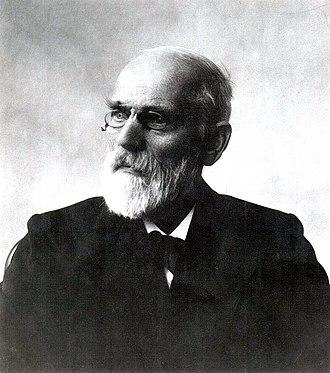 Johannes Diderik van der Waals - Image: Johannes Diderik van der Waals