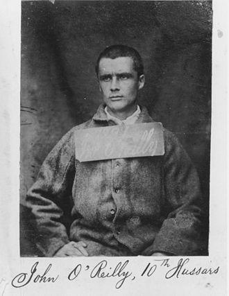 John Boyle O'Reilly - Photograph of imprisoned O'Reilly, 1866