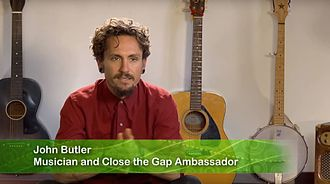 John Butler (musician) - Butler speaking with Oxfam Australia about Close the Gap in 2013