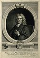 John Flamsteed. Line engraving by G. Vertue, 1721, after T. Wellcome V0001936.jpg