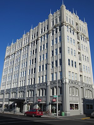 National Register of Historic Places listings in Clatsop County, Oregon - Image: John Jacob Astor Hotel in Astoria