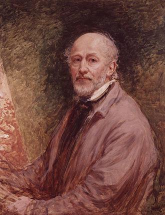 John Linnell (painter) - Self-portrait of John Linnell, circa 1860