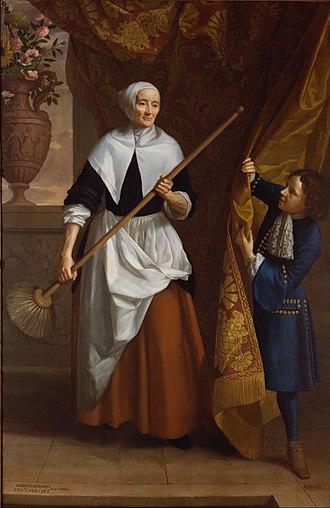 John Riley (painter) - Portrait of Bridget Holmes by Riley, 1686
