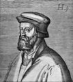 John Wycliff, last of the schoolmen and first of the English reformers - JOHN WYCLIF. (Hondius fecit.).png