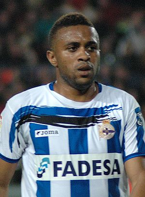 Jorge Andrade - Andrade in action for Deportivo in 2007