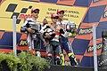 Jorge Lorenzo, Dani Pedrosa and Valentino Rossi 2010 Misano.jpg