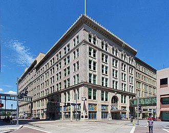Joseph Horne Company - Site of the Joseph Horne Company Department Store, located at Penn Avenue and Stanwix Street in Downtown Pittsburgh, Pennsylvania