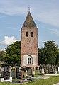 Joure. Kerktoren van Westermeer. Geert Knolweg 4 (Rijksmonument) 07.jpg