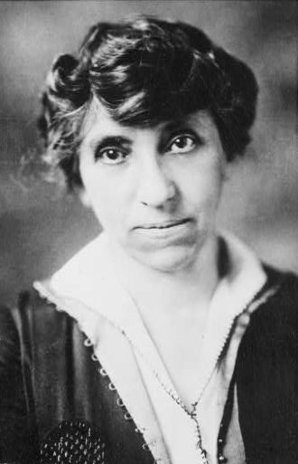 Euthenics - Julia Clifford Lathrop as the first chief of the U.S. Children's Bureau.