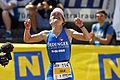 Julia Gajer winning Ironman 70.3 Austria 2012.jpg