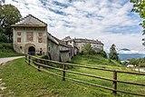 Köttmannsdorf Hollenburg Burganlage Nord-Gesamtansicht 13072018 3885.jpg