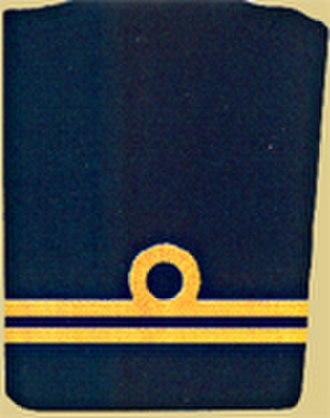 Ranks in the Austro-Hungarian Navy - Image: K.u.K. Fregattenleutnant
