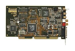 Sound Blaster AWE64 - Sound Blaster AWE64 Gold.