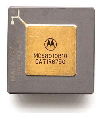 Motorola 68010 - Motorola 68010 as PGA