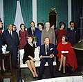 KN-C19648. First Lady Jacqueline Kennedy's tea for the Special Committee for White House Paintings.jpg