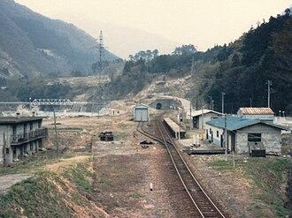 Kadohara Station - Kadohara Station in April 1985